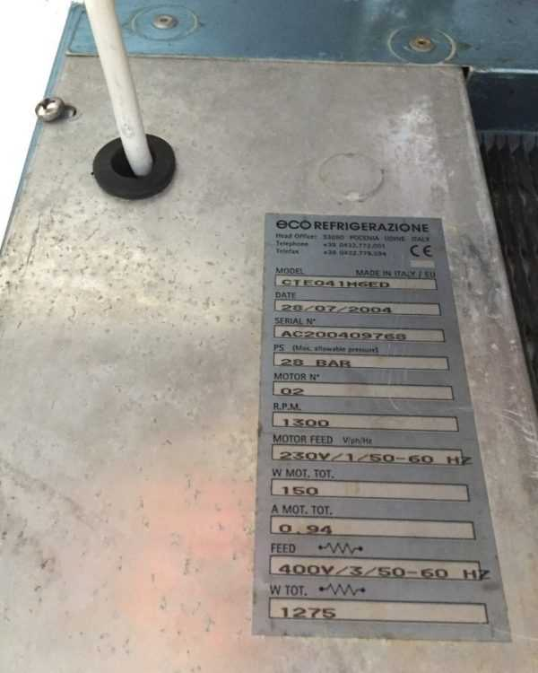 Купить Испаритель ECO CTE 041 M6ED