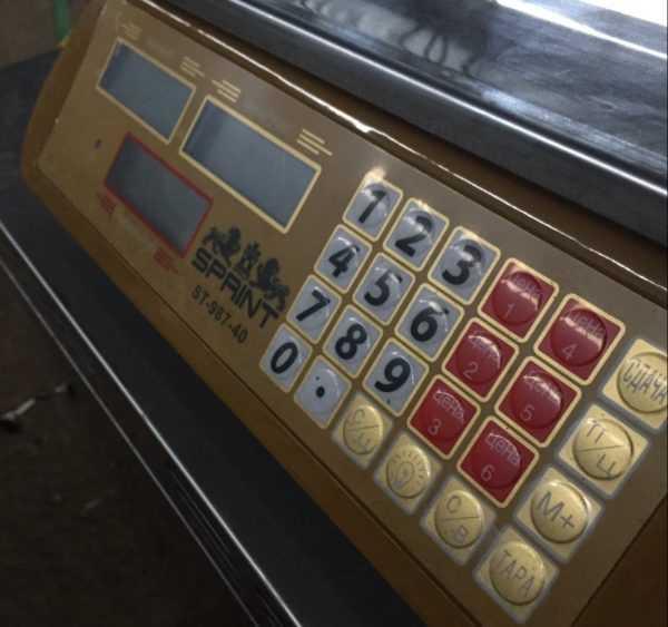 Купить Весы счетные электронные sprint ST-987-40