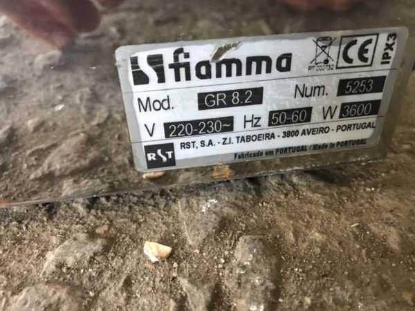 Купить Прижимной гриль fiamma GR 8.2