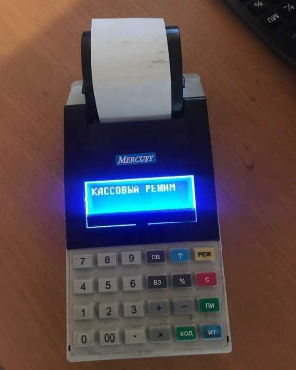 Купить Кассовый аппарат Меркурий 115Ф