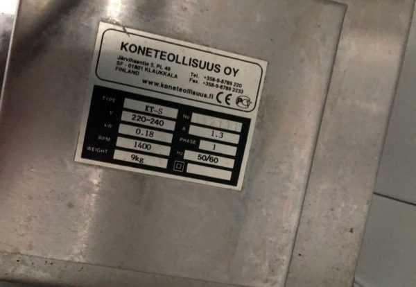 Купить Рыбочистка Koneteollisuus Oy (KT) S