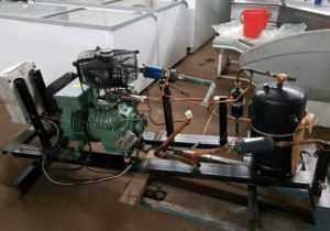 Купить Агрегат на базе компрессора Bitzer 6.5 кВт