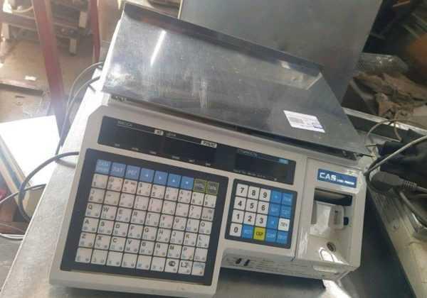 Купить Весы с термоэтикеткой Cas LP 15 без стойки
