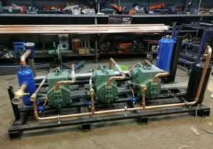 Купить Морозильный агрегат на базе bitzer 4cc-8.2-40s