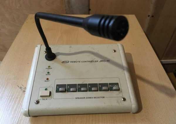 Купить JRC-11 (jedia) микрофон с селектором 5 зон
