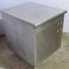 Купить Кассовая кабина нержавеющая сталь ширина 70см / глубина 82 см / высота 87 см