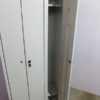 Купить Шкаф металлический для раздевалок 4 ячейки ш 75 см г 50 см в 200 см