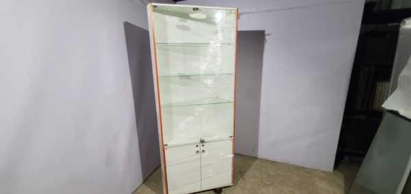 Купить Стойка витрина двери стекло двери дсп 80/37/207 см