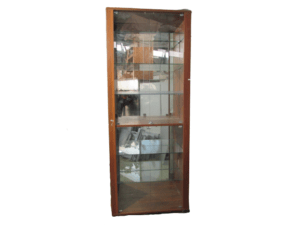 Купить Стойка витрина дерево стекло 4 дверцы стекло 5 полок стекло 27/100/250