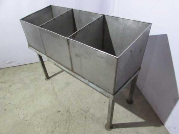 Купить Мойка трехсекционная 150х50