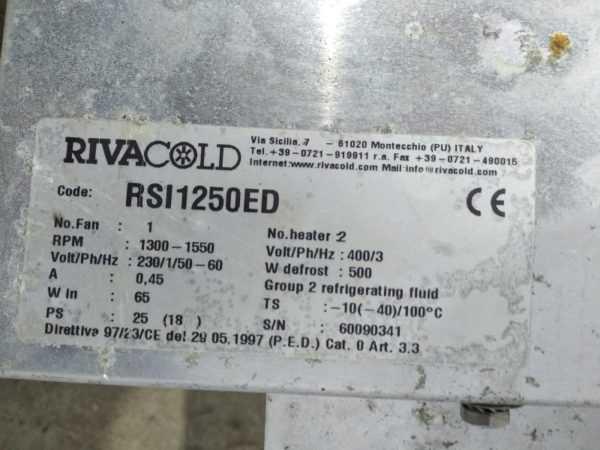 Купить Испаритель Rivacold Rsi 1250ed