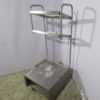 Купить Стойка для подносов, столовых приборов и хлеба Kogast Kovinastroj
