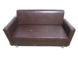 Купить Диван эко кожа коричневый 163/71/90