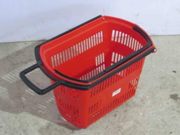 Купить Корзина пластиковая с колесами