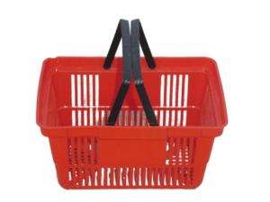 Купить Корзина пластиковая красная