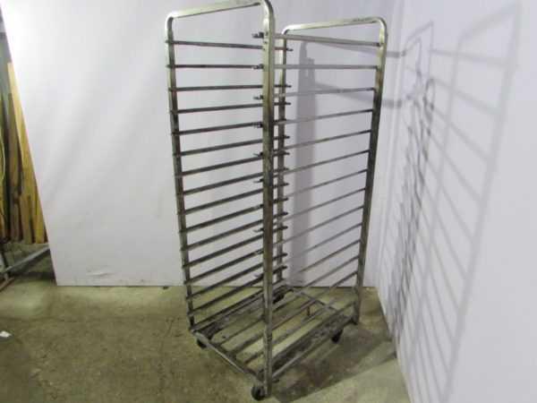 Купить Шпилька тележка пекарская глубина 65 см / ширина 60 см / высота 179 17 уровней противень 55/64