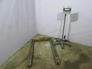 Купить Весы палетные Cas Геркулес 2ПЛ весовой индикатор CAS BI-100RB