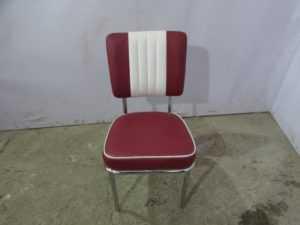 Купить Стул двухцветный спинка и сидушка мягкие 44/44/87 см