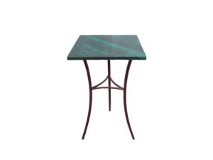 Купить Стол барный зеленый мрамор 55/55/95 см