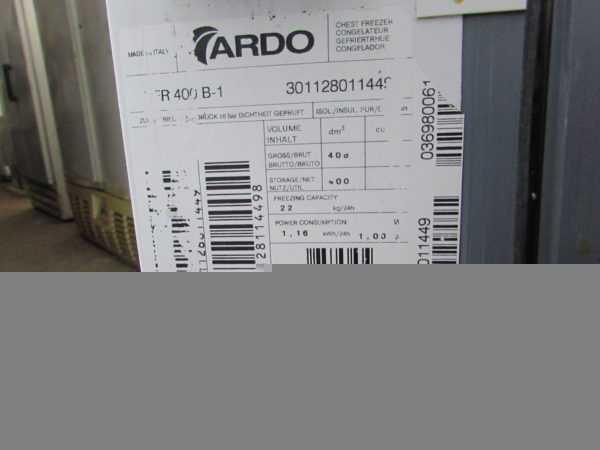 Купить Ларь Ardo CFR 400B