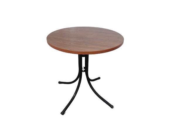 Купить Стол деревянный круглый диаметр 73 см высота 80 см