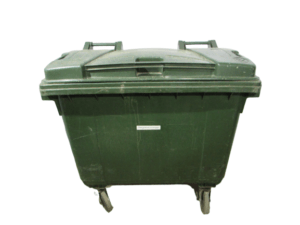 Купить Бак для сбора мусора 660л пластик