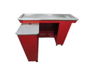 Купить Кассовый бокс унифицированный красный без транспортера
