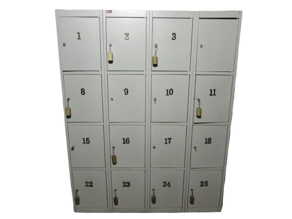 шкаф для переодевания металлический