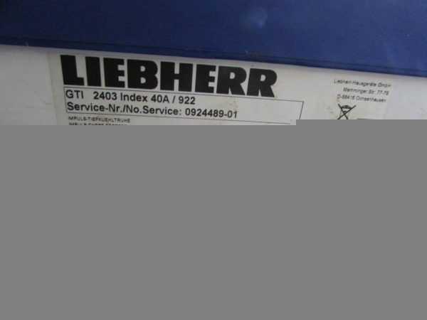 Купить Ларь морозильный Liebherr GTI 2403