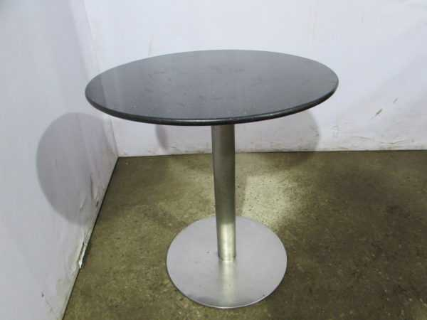 Купить Стол для кафе листок мрамор д70