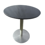 Стол для кафе листок мрамор д70