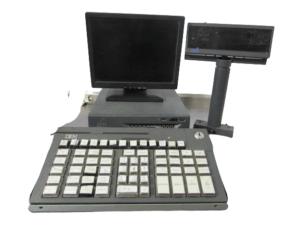 Купить Pos система IBM системный блок/монитор кассира/монитор покупателя