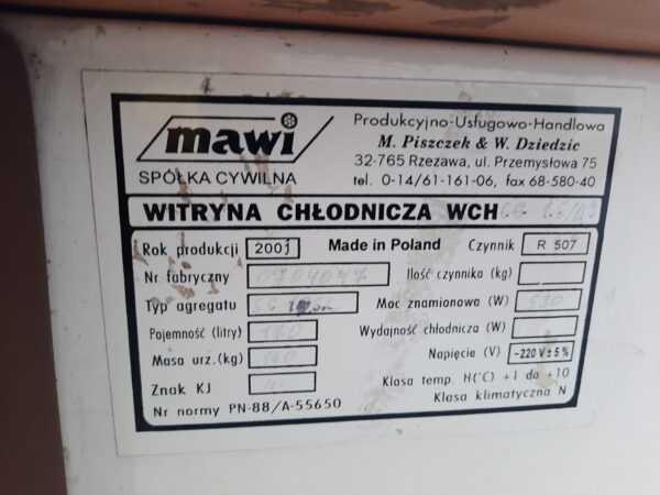 Купить Витрина Mawi WCHCG 1.6/0.9 кондитерская