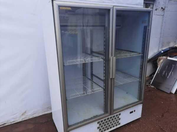 Купить Шкаф Kifato Арктика стекло стат. 1400 холодильный