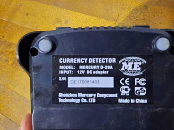 Купить Детектор Mercury D-20A валют