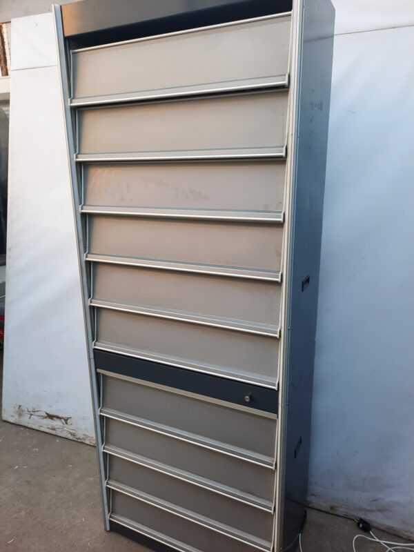 Купить Шкаф для сигарет 48/81/209 120 видов серый