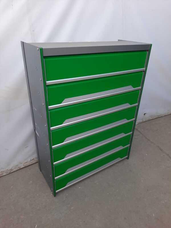 Купить Шкаф для сигарет 41/95/127.5  98 видов зеленый