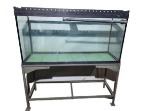 Купить Аквариум 150/50 для рыбы глубина 62 станина 82