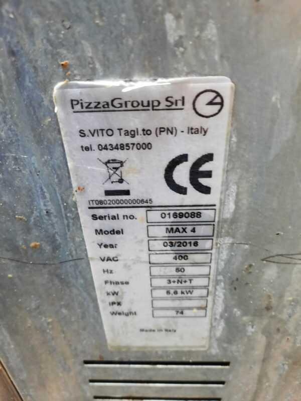 Купить Печь Pizza group entry max 4 для пиццы на подставке