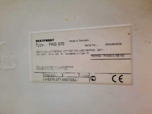 Купить Шкаф Vestfrost FKG 370 холодильный