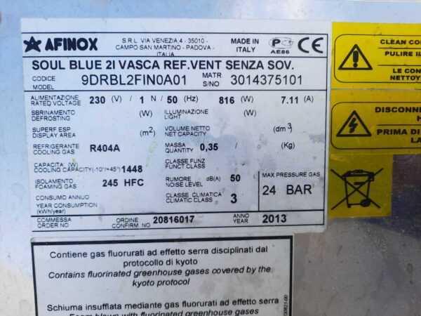 Купить Салат-бар Afinox Soul Blue 2L VASCA встраиваемый