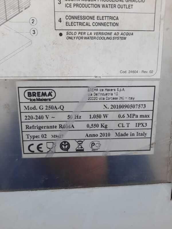 Купить Льдогенератор Brema G 250 A-Q + Бункер BIN 200