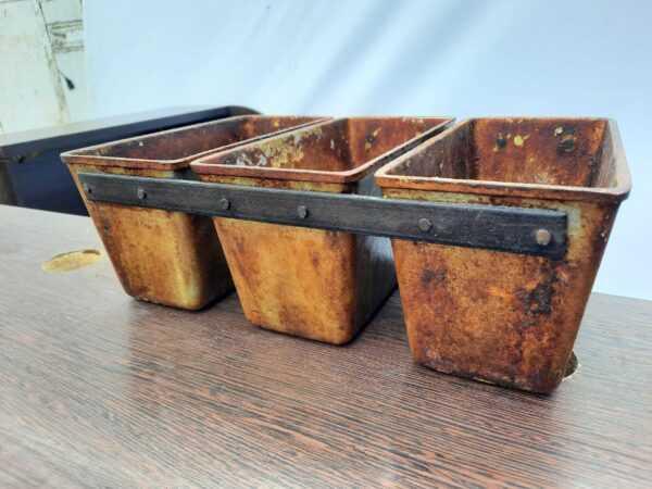 Купить Форма для выпечки C N7 3секц 22/11/11.5 хлеба