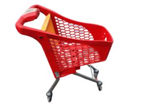 Купить Тележка покупательская детская пластик