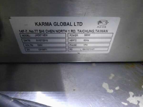 Купить Гриль Karma Global JHD07 new роликовый