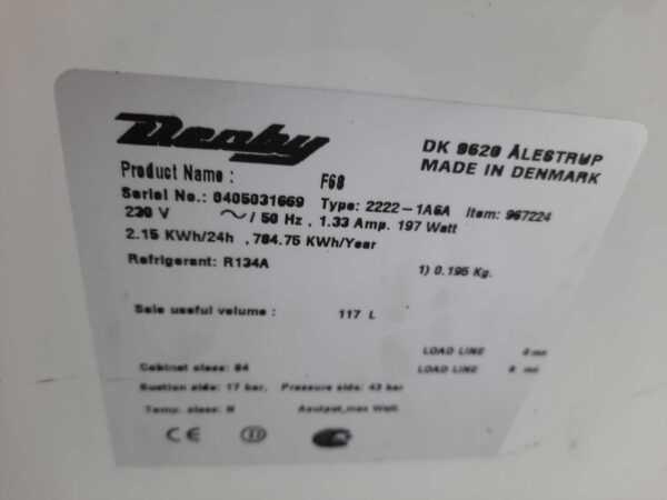 Купить Ларь морозильный Derby F 68