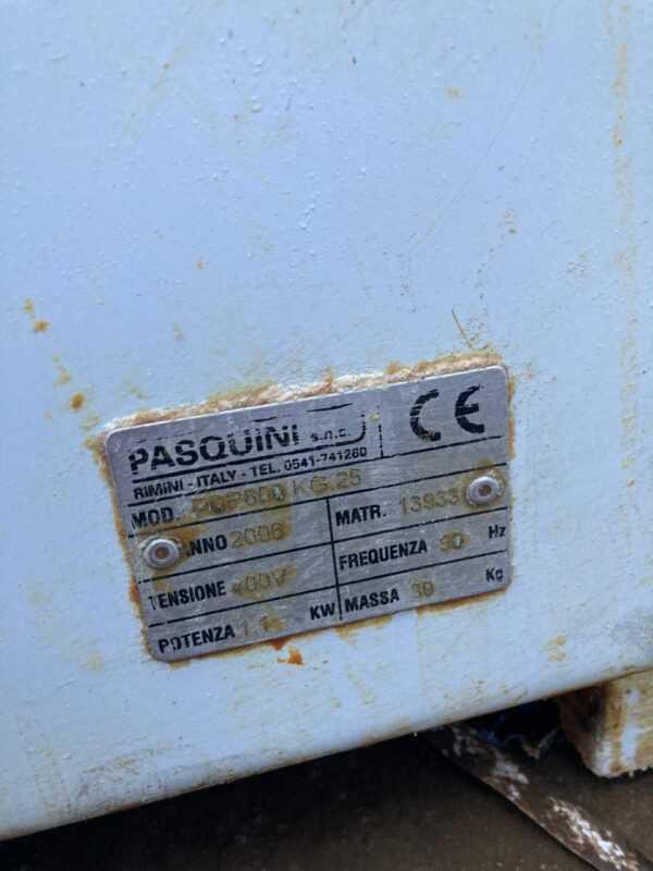 Купить Тестомес Pasquini PSP 800