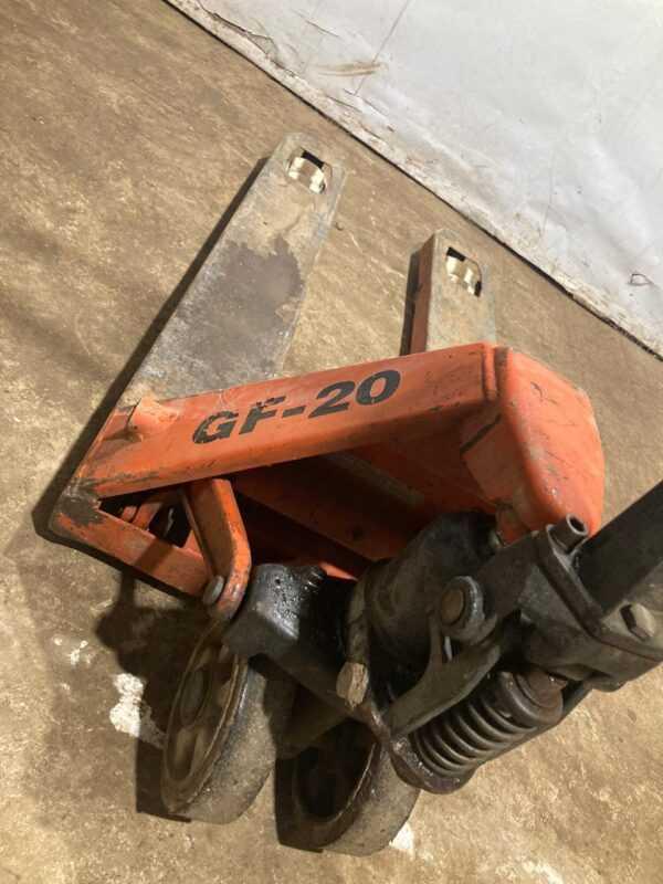 Купить Тележка Grost GF 20-150 гидравлическая (рохля)