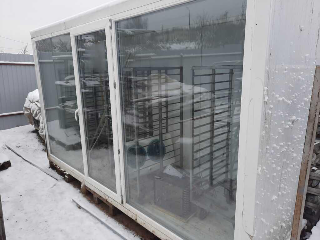 Так выглядят холодильные камеры.