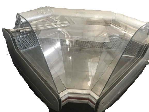 Купить Витрина Вилия УВ 90 ВС Enteco Master холодильная